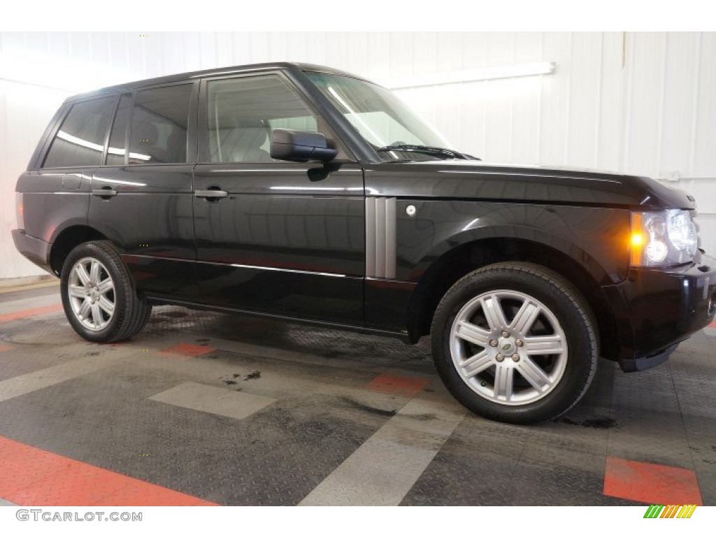 2006 Range Rover HSE - Java Black Pearl / Charcoal/Jet photo #6