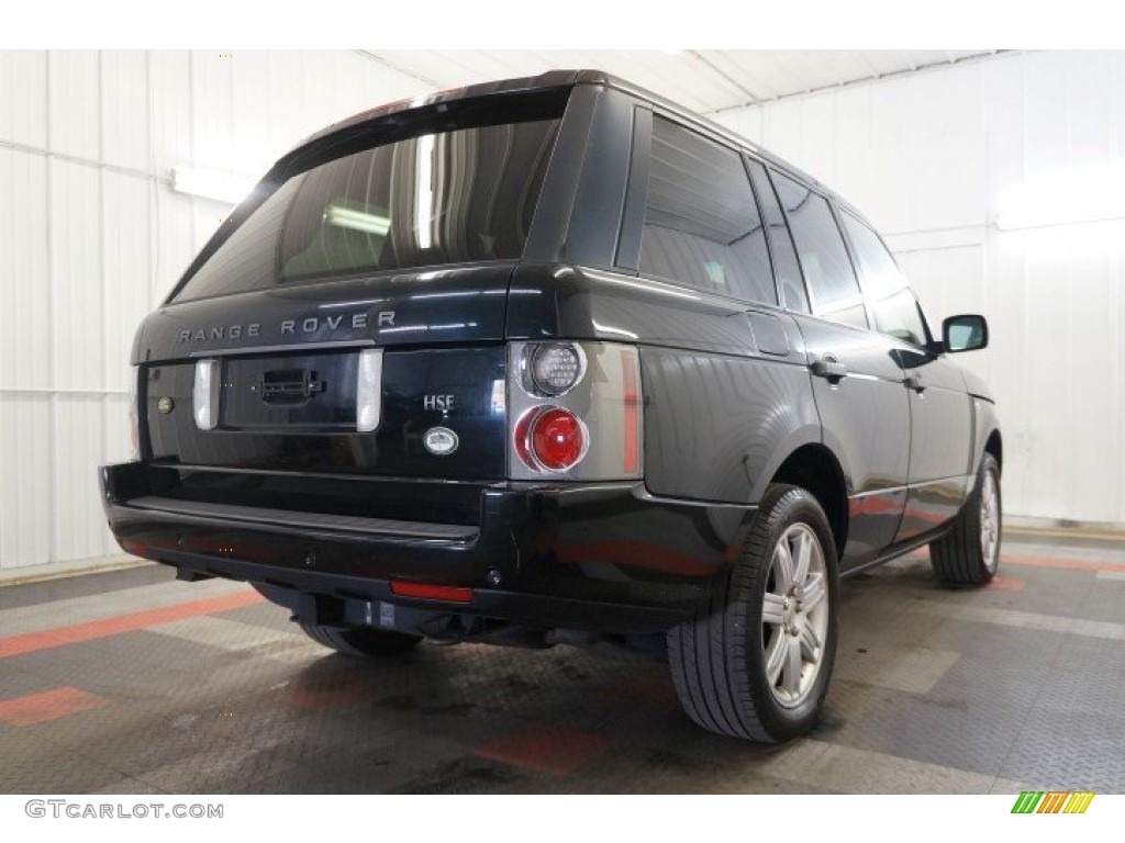 2006 Range Rover HSE - Java Black Pearl / Charcoal/Jet photo #8