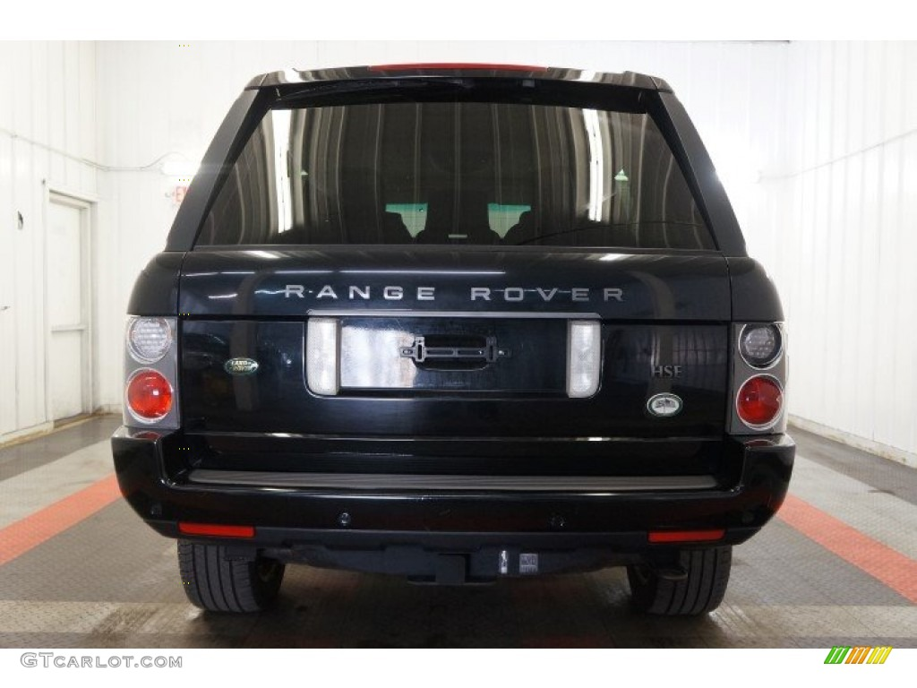 2006 Range Rover HSE - Java Black Pearl / Charcoal/Jet photo #9