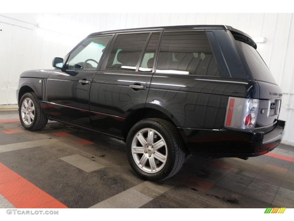 2006 Range Rover HSE - Java Black Pearl / Charcoal/Jet photo #11