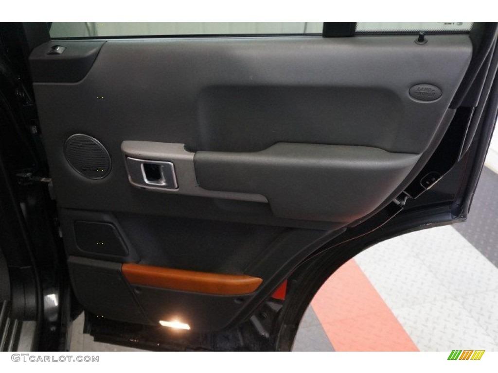 2006 Range Rover HSE - Java Black Pearl / Charcoal/Jet photo #15