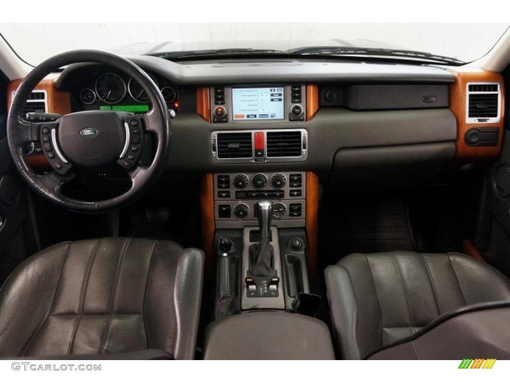 2006 Range Rover HSE - Java Black Pearl / Charcoal/Jet photo #22