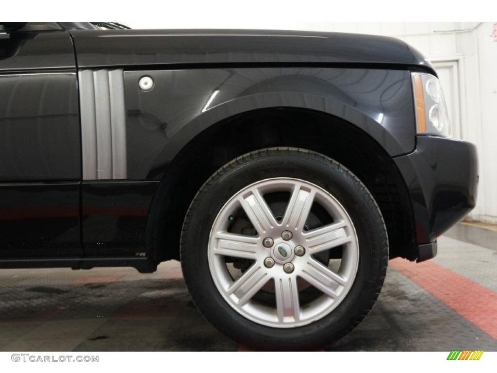 2006 Range Rover HSE - Java Black Pearl / Charcoal/Jet photo #43