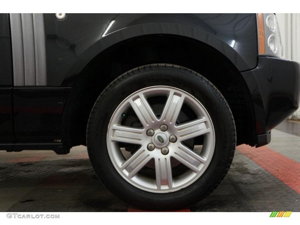 2006 Range Rover HSE - Java Black Pearl / Charcoal/Jet photo #44