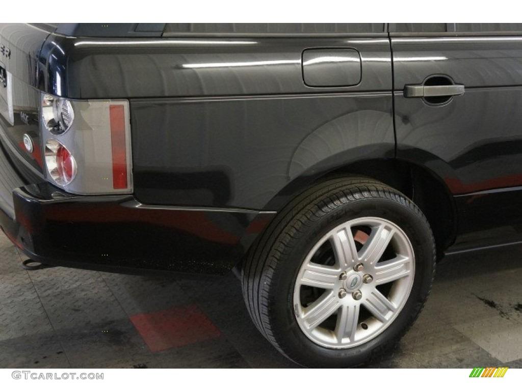 2006 Range Rover HSE - Java Black Pearl / Charcoal/Jet photo #50
