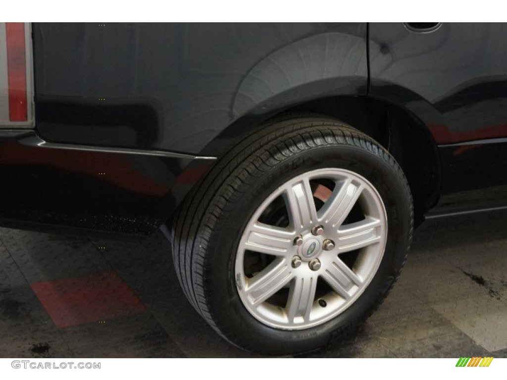 2006 Range Rover HSE - Java Black Pearl / Charcoal/Jet photo #51