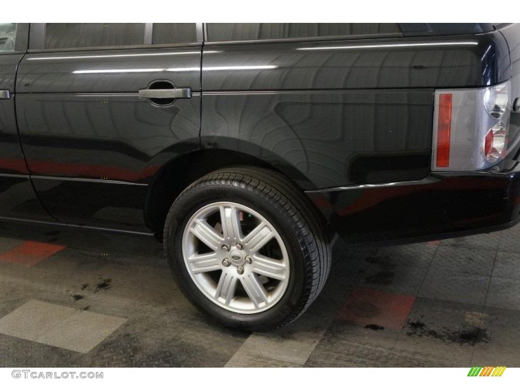 2006 Range Rover HSE - Java Black Pearl / Charcoal/Jet photo #56