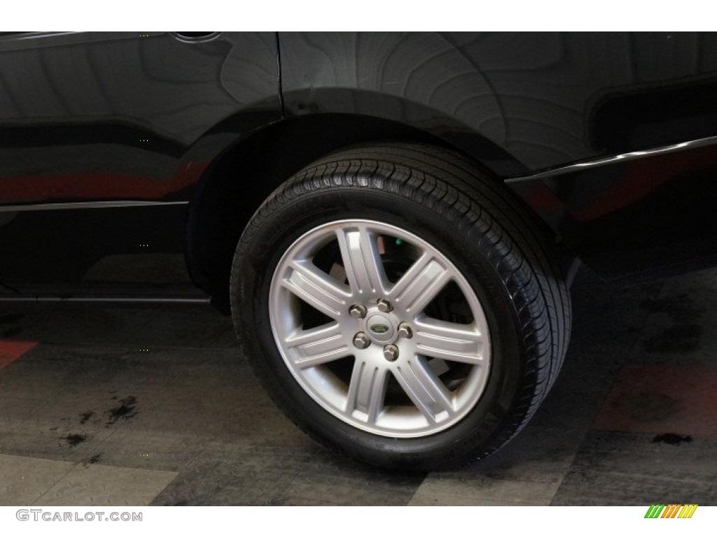 2006 Range Rover HSE - Java Black Pearl / Charcoal/Jet photo #57