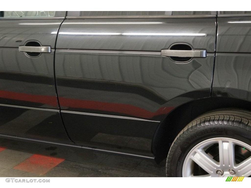 2006 Range Rover HSE - Java Black Pearl / Charcoal/Jet photo #59