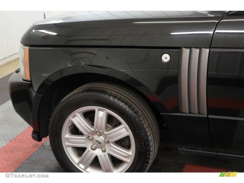 2006 Range Rover HSE - Java Black Pearl / Charcoal/Jet photo #63