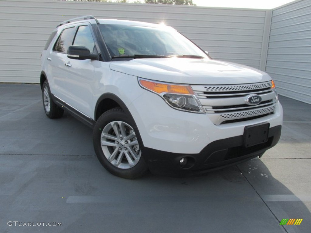 2015 oxford white ford explorer xlt 100127948 car