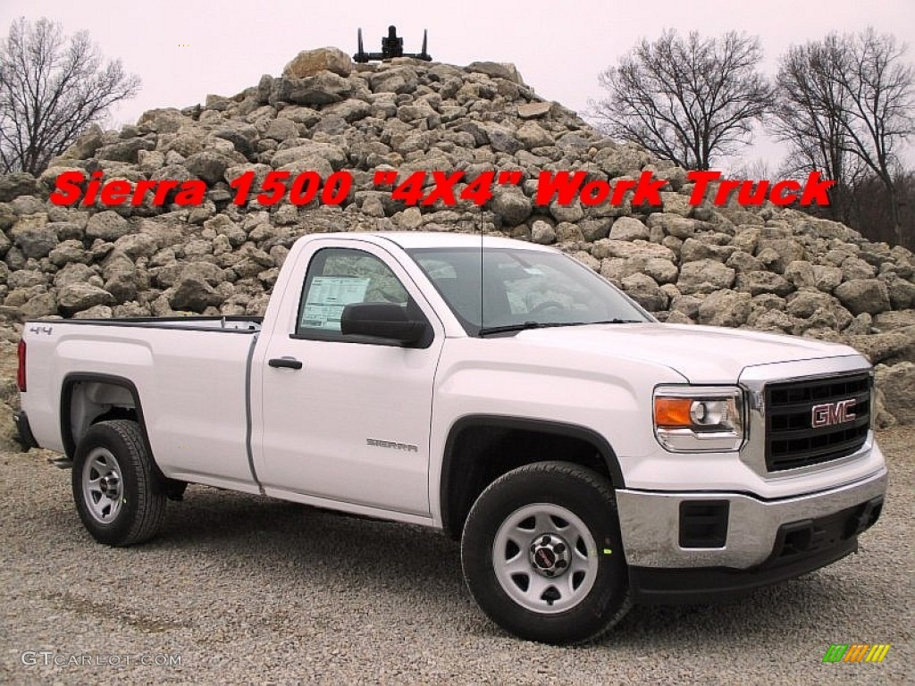 2015 summit white gmc sierra 1500 regular cab 4x4. Black Bedroom Furniture Sets. Home Design Ideas