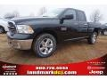 2015 Black Forest Green Pearl Ram 1500 Big Horn Quad Cab  photo #1