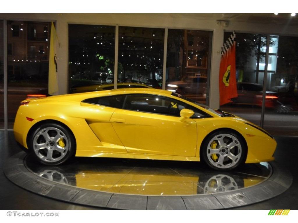 Giallo Midas 2004 Lamborghini Gallardo Coupe E Gear Exterior Photo 100156159 Gtcarlot Com