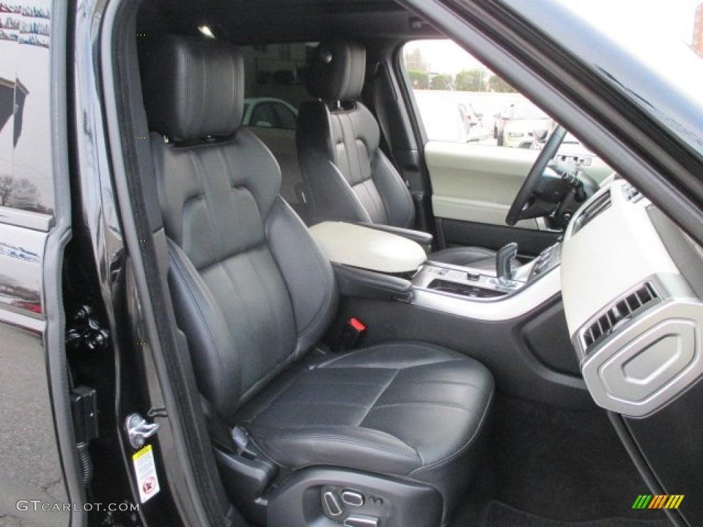 Ebony Ivory Ebony Interior 2014 Land Rover Range Rover Sport Hse Photo 100162119