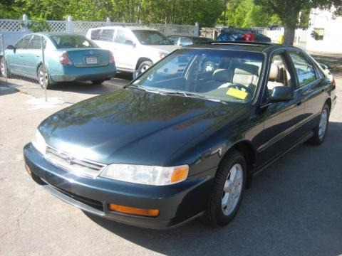 1997 Honda Accord Ex V6 Sedan Data Info And Specs