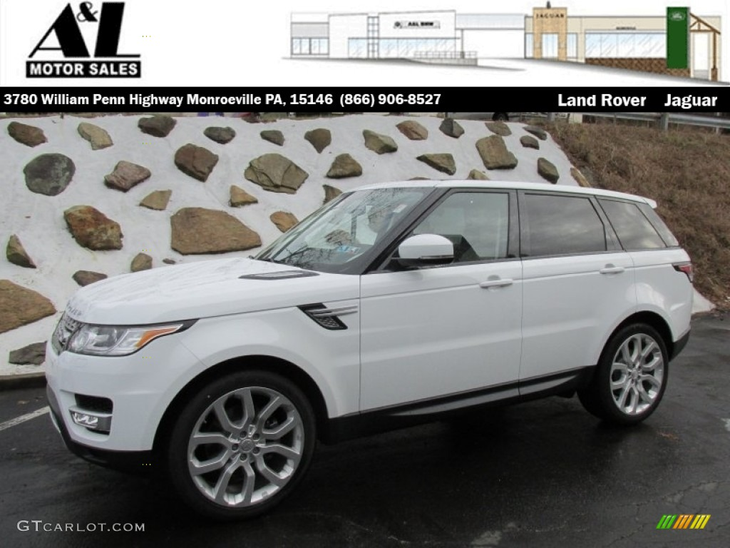 2015 Fuji White Land Rover Range Rover Sport Hse 100157741 Car Color Galleries
