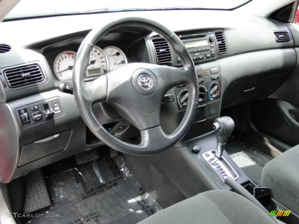 gray interior 2007 toyota corolla s photo 100170456. Black Bedroom Furniture Sets. Home Design Ideas