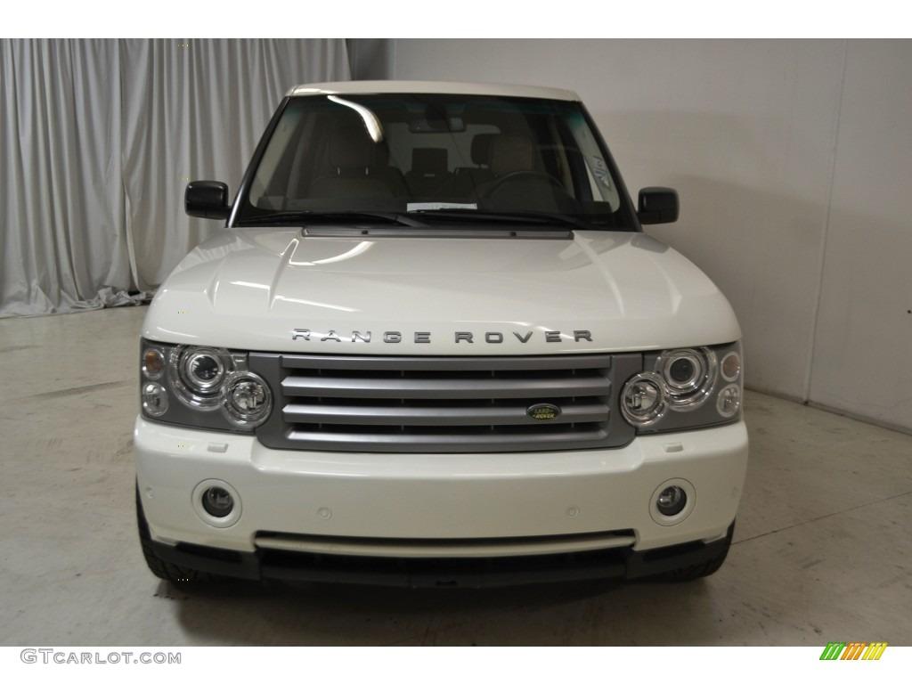 2007 Range Rover HSE - Chawton White / Sand Beige photo #4