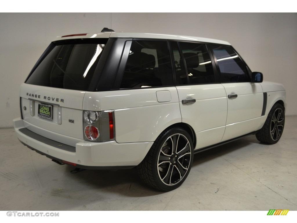 2007 Range Rover HSE - Chawton White / Sand Beige photo #5