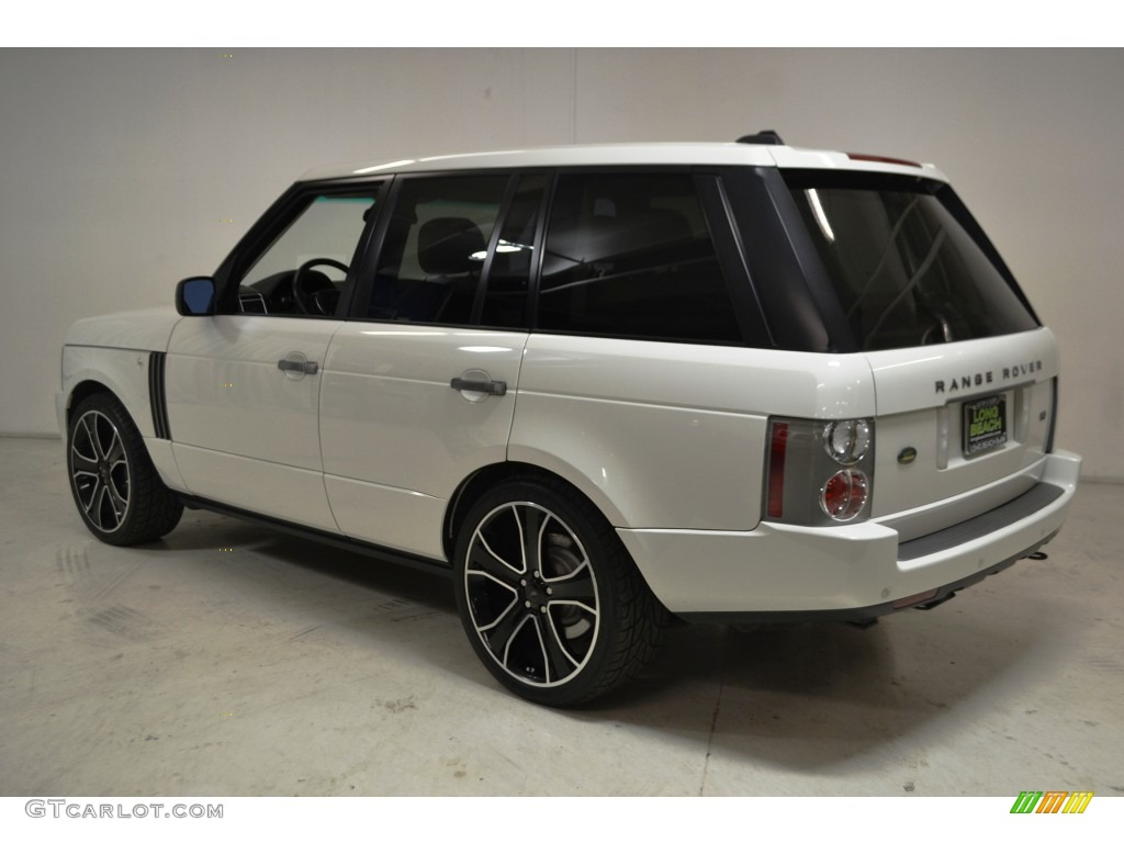 2007 Range Rover HSE - Chawton White / Sand Beige photo #6