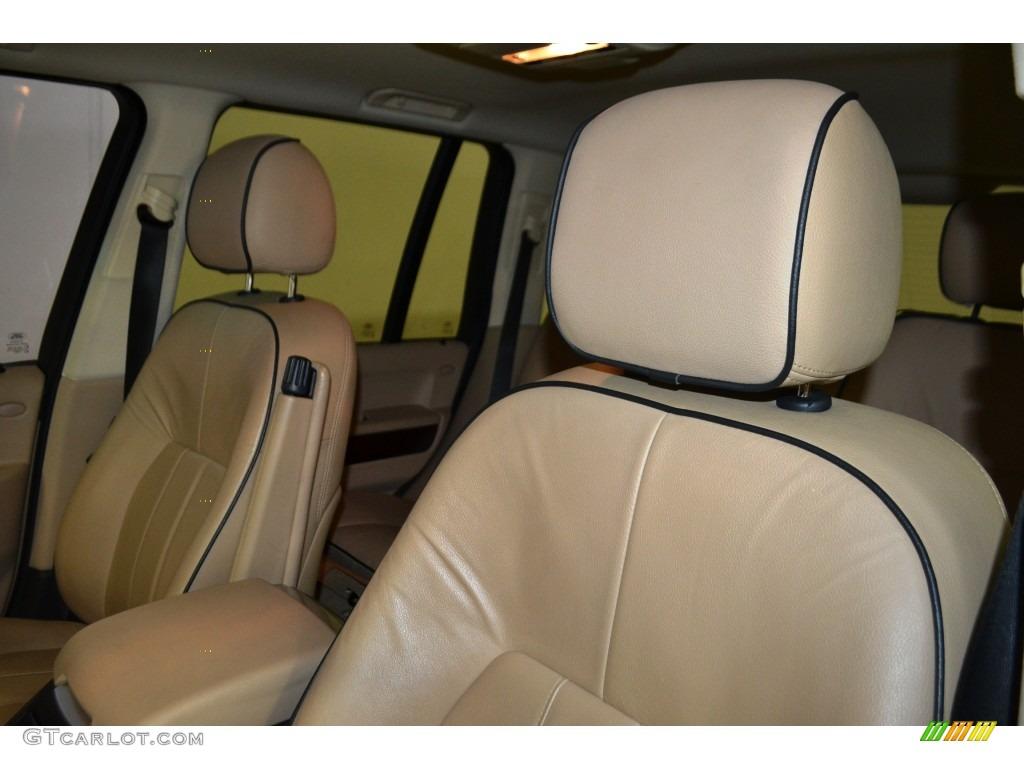 2007 Range Rover HSE - Chawton White / Sand Beige photo #14