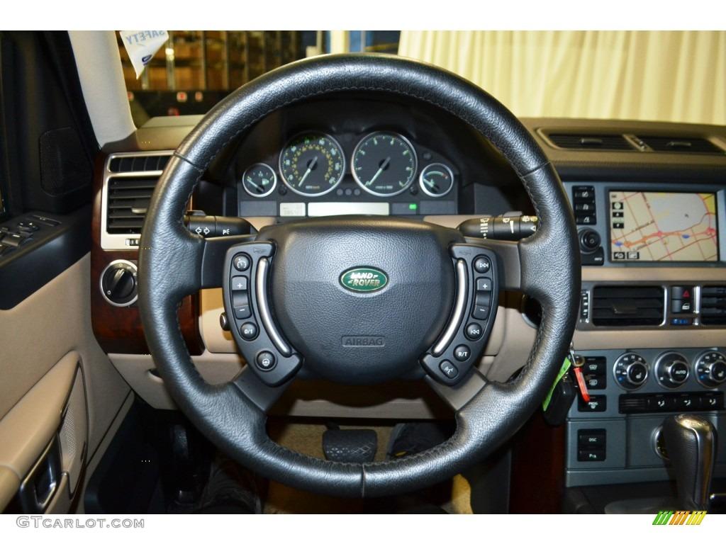 2007 Range Rover HSE - Chawton White / Sand Beige photo #25