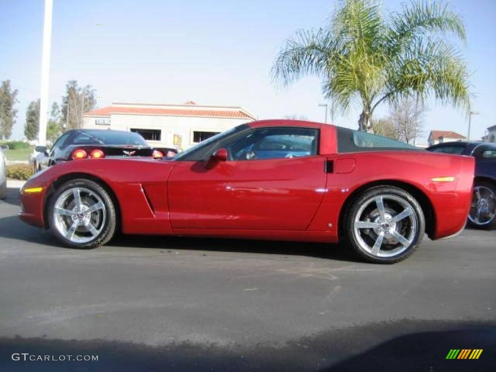 2009 crystal red metallic chevrolet corvette coupe 10015175 car color galleries. Black Bedroom Furniture Sets. Home Design Ideas