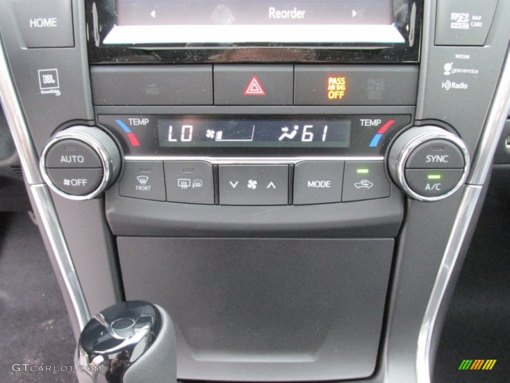 2015 Attitude Black Metallic Toyota Camry Xse V6 100208180 Photo 29 Car Color