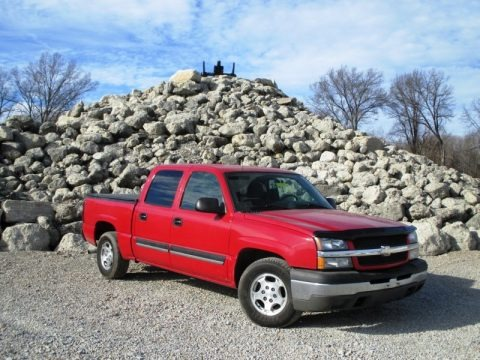 2004 Chevrolet Silverado 1500 LT Crew Cab Data, Info and Specs