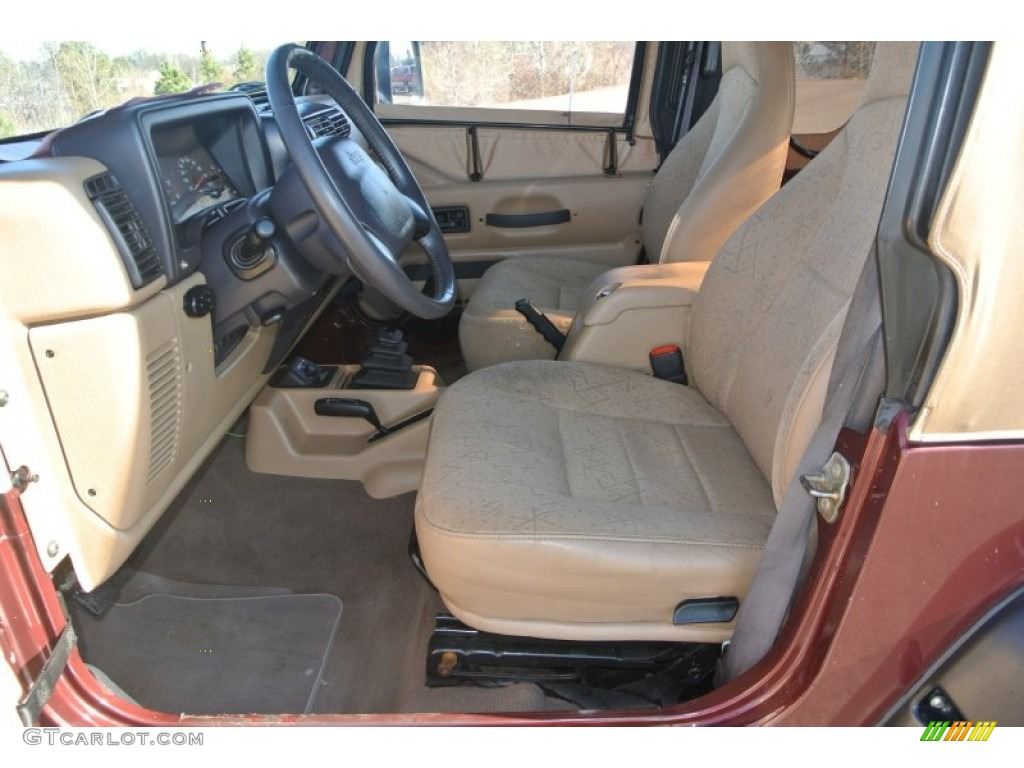2001 Jeep Wrangler Sport 4x4 Interior Photos