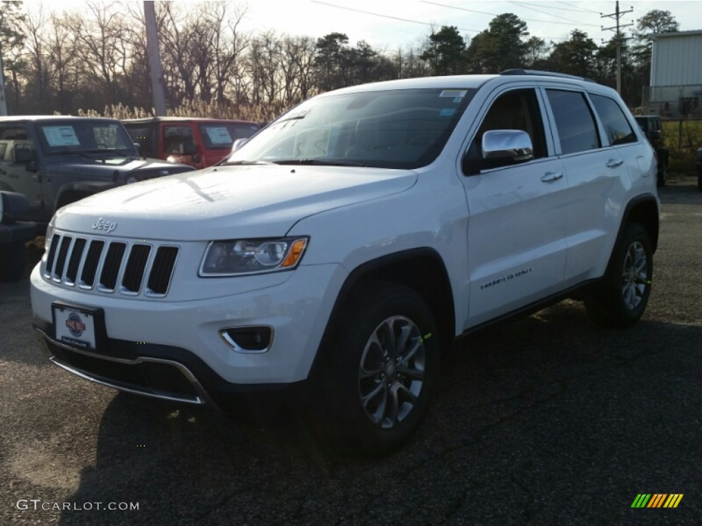 2015 bright white jeep grand cherokee limited 4x4 100229585 car color galleries. Black Bedroom Furniture Sets. Home Design Ideas