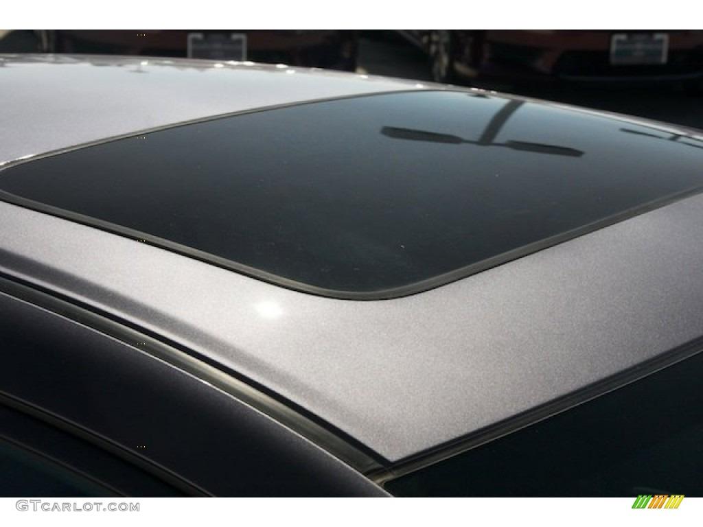 2015 Civic EX-L Sedan - Modern Steel Metallic / Gray photo #8