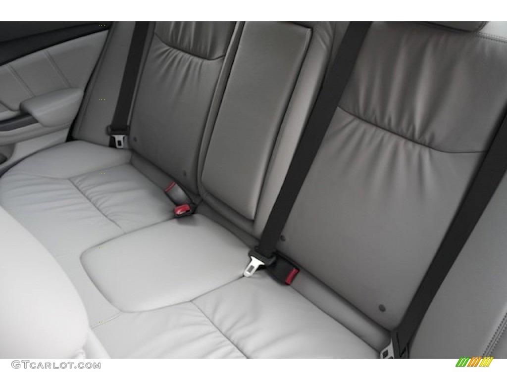 2015 Civic EX-L Sedan - Modern Steel Metallic / Gray photo #20