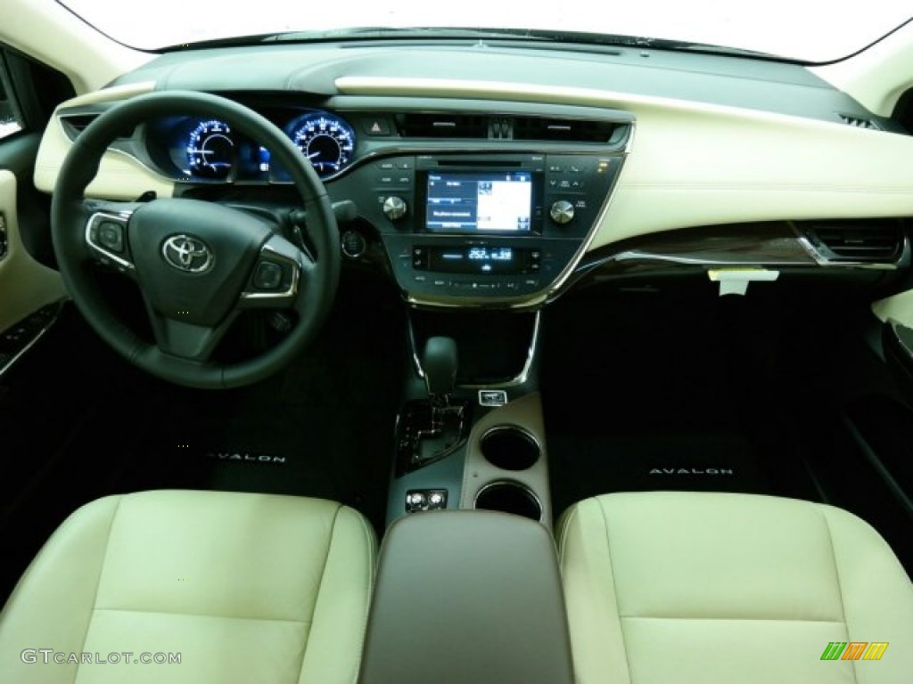 2015 Avalon XLE Premium   Parisian Night Pearl / Almond Photo #13