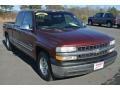 1999 Dark Carmine Red Metallic Chevrolet Silverado 1500 LS Extended Cab #100229878