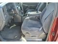 1999 Dark Carmine Red Metallic Chevrolet Silverado 1500 LS Extended Cab  photo #8