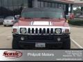 Sunset Orange Metallic 2003 Hummer H2 SUV