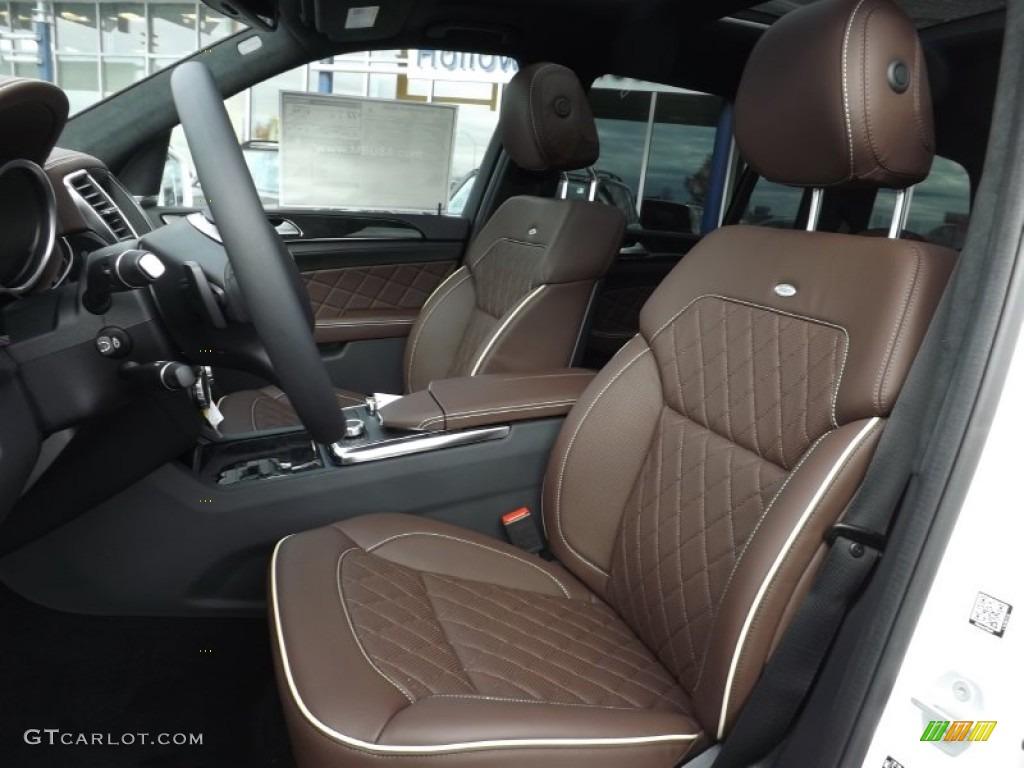 Designo Auburn Brown Interior 2015 Mercedes Benz Gl 350