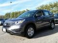 2015 Modern Steel Metallic Honda CR-V LX AWD  photo #1