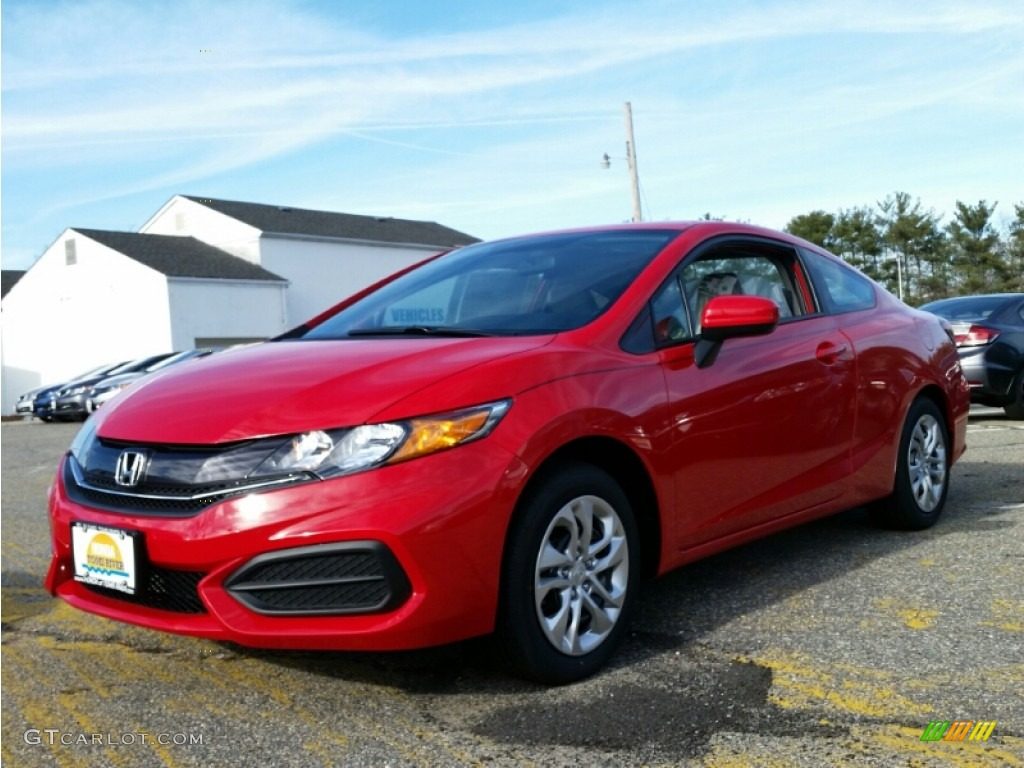 2015 rallye red honda civic lx coupe 100260674 car color galleries. Black Bedroom Furniture Sets. Home Design Ideas
