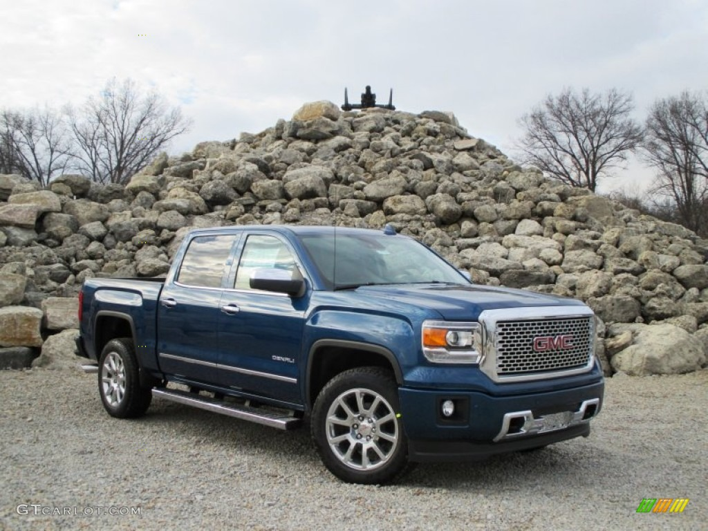 2015 stone blue metallic gmc sierra 1500 denali crew cab 4x4 100260604 photo 30. Black Bedroom Furniture Sets. Home Design Ideas