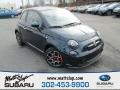 Verde Azzurro (Blue-Green) 2013 Fiat 500 Turbo