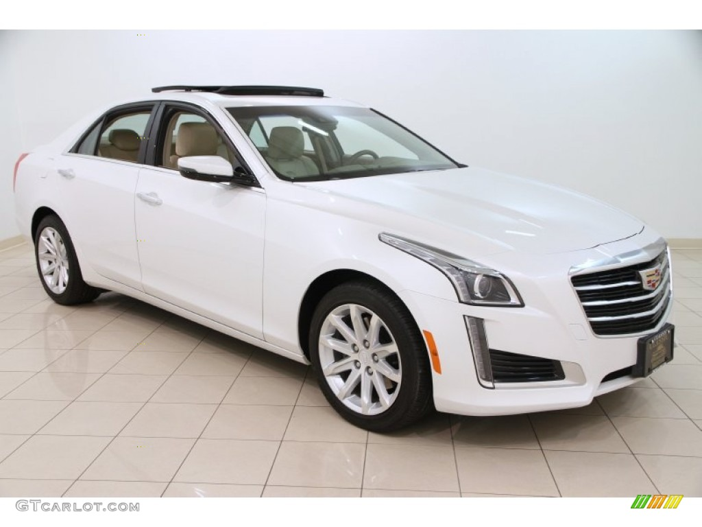 2015 crystal white tricoat cadillac cts 2 0t luxury awd sedan 100260595 photo 17 gtcarlot. Black Bedroom Furniture Sets. Home Design Ideas