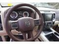 2015 Ram 1500 Canyon Brown/Light Frost Interior Steering Wheel Photo