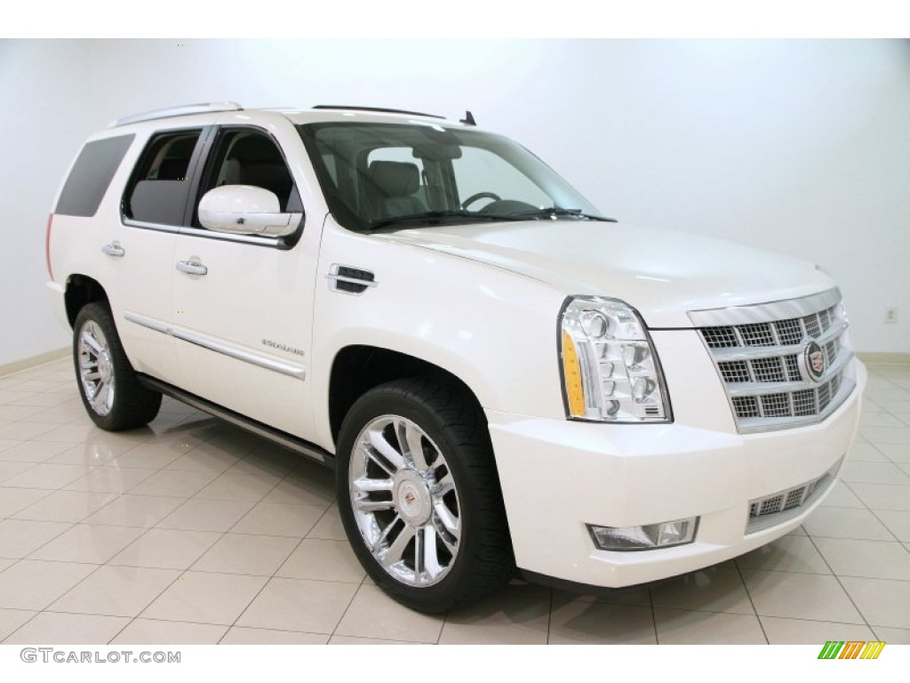 2011 white diamond tricoat cadillac escalade platinum awd. Black Bedroom Furniture Sets. Home Design Ideas