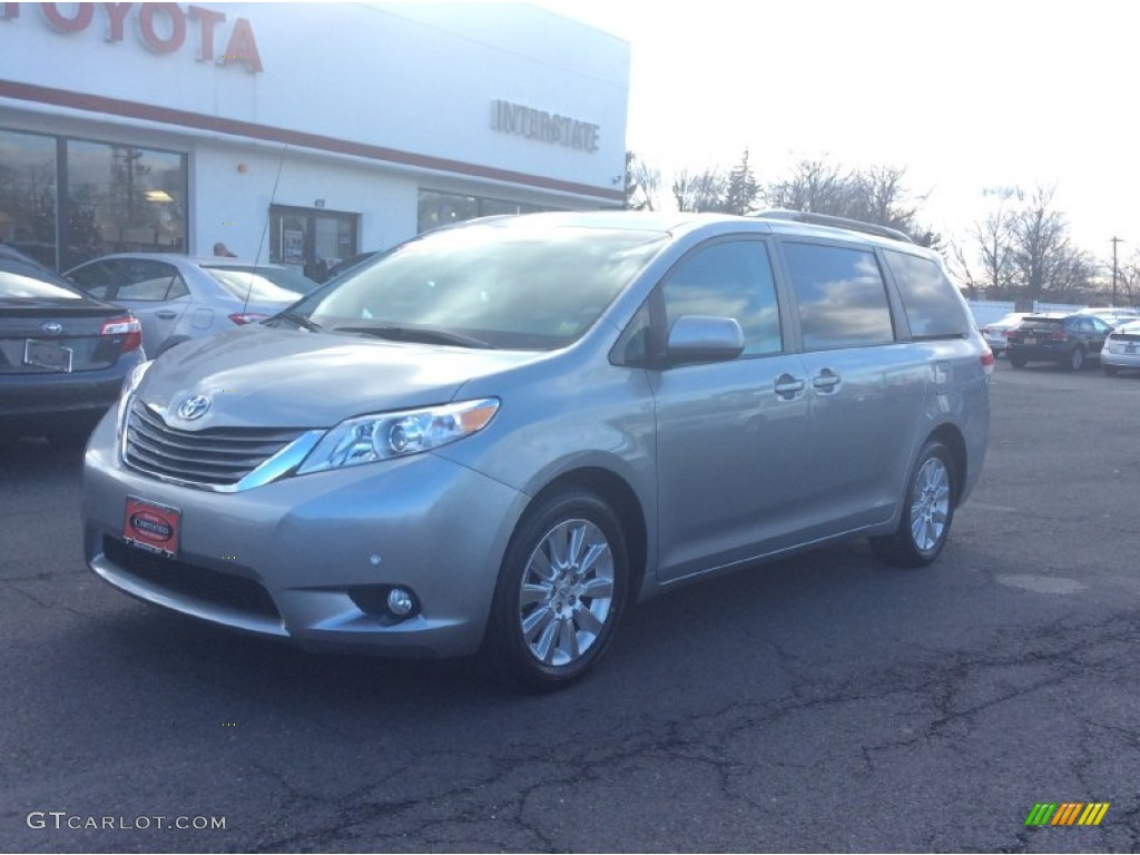 2011 Sienna XLE AWD - Silver Sky Metallic / Light Gray photo #1