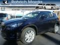2014 Stormy Blue Mica Mazda CX-5 Grand Touring AWD #100283942