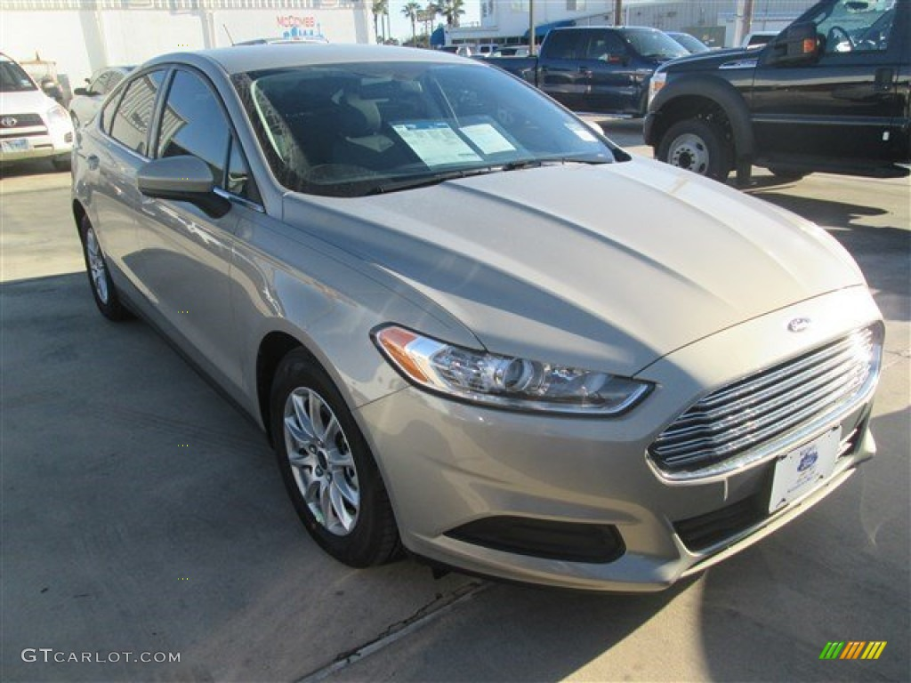 Ford Mondeo 2015 White >> 2015 Tectonic Silver Metallic Ford Fusion S #100327347 | GTCarLot.com - Car Color Galleries