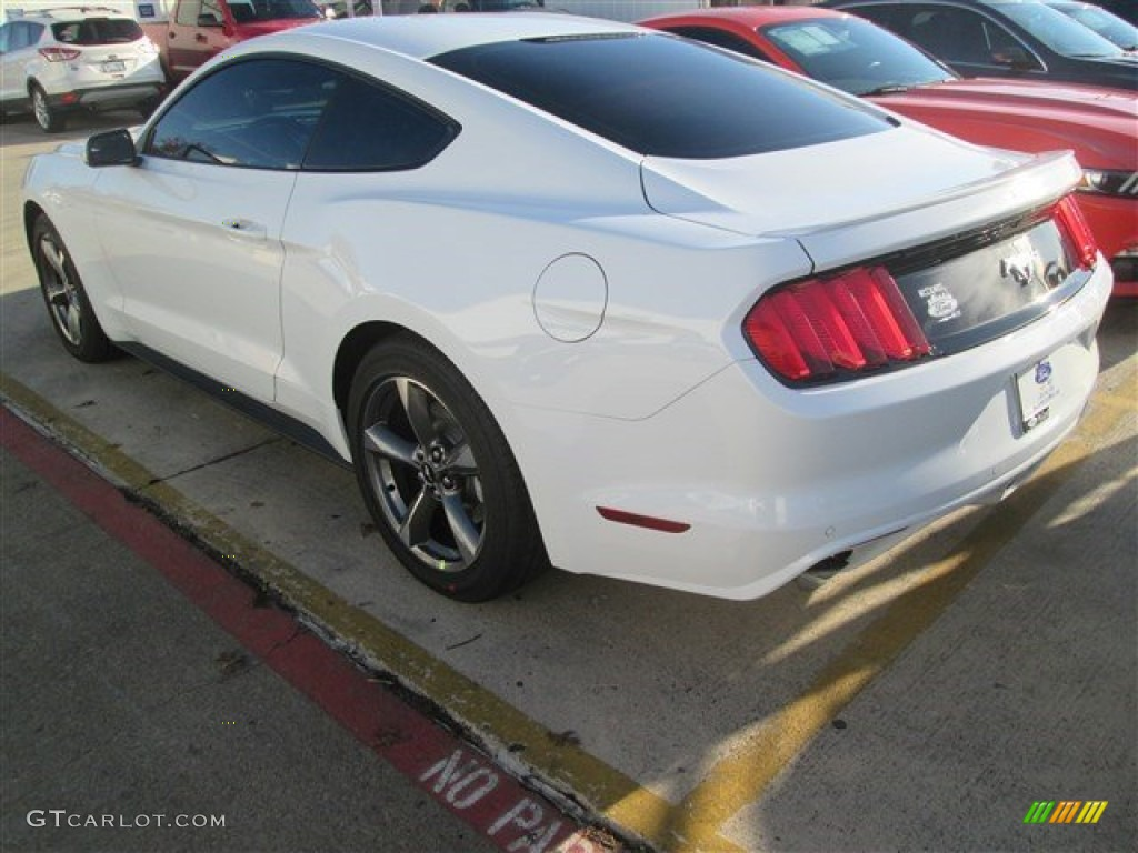 2015 Mustang EcoBoost Coupe - Oxford White / Ebony photo #6